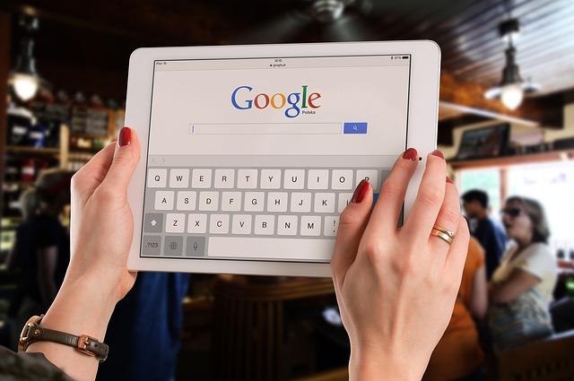 tablet, google, ruce