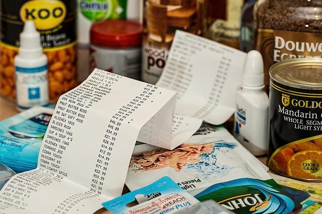 výdaje za potraviny