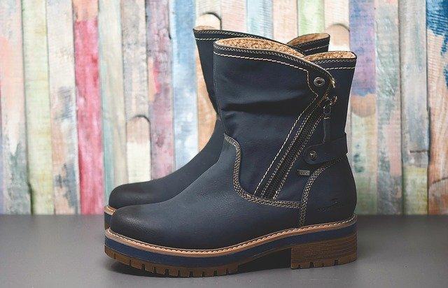 kožené boty na zimu