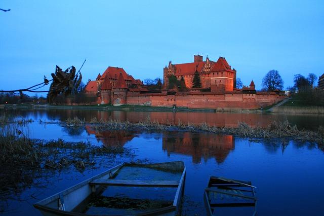 rybník u zámku